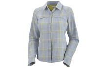 COLUMBIA Silver Ridge Plaid T Shirt ML mirage